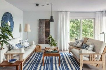 Colliers Cottage Staging - beach-style - Living Room - Toronto - DesignSense Interiors
