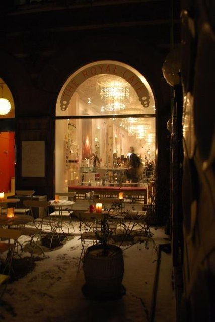 Yellow Lounge at Royal Café Copenhagen