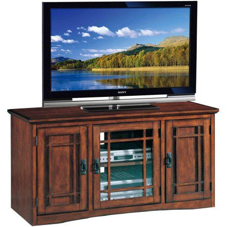Leick Home Mission 50 inch TV Stand for TV's up to 50 inch, Brown