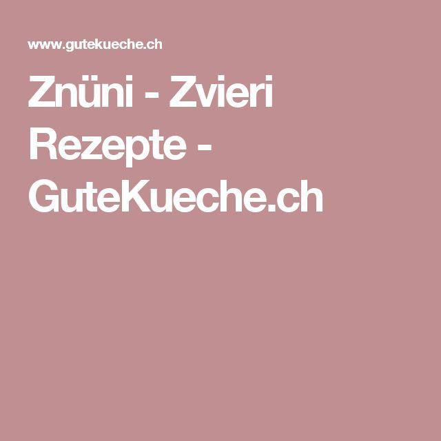 Znüni - Zvieri Rezepte - GuteKueche.ch