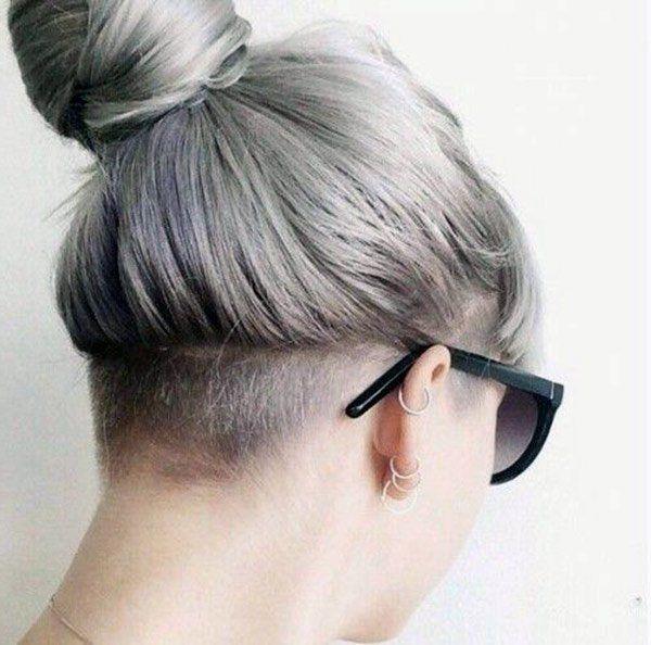 Undercut Haircut Fashion Bei Frauen Bei Fashion Frauen