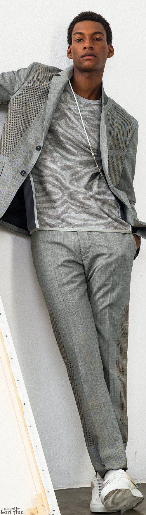 25 Best X Images On Pinterest Men Fashion Gentleman And Lgs Slim Fit Ladies Shirt Blue White Plaid Biru Muda M Oamc Spring 2016 Mens Menswear Gray Suit T