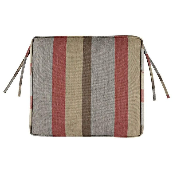 Home Decorators Collection Sunbrella Gateway Blush Outdoor Dining Chair  Cushion With Home Decorators Outdoor Cushions.