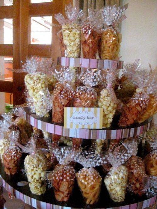 Chip and popcorn cones