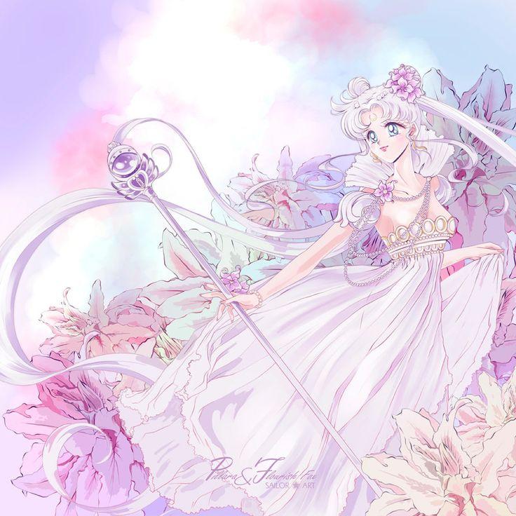 Princess Serenity_style manga art by Pillara