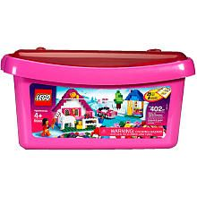 "LEGO Bricks & More Large Pink Brick Box (5560) - LEGO - Toys ""R"" Us"