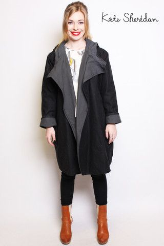 Kate Sheridan Waxed Cotton Coat - Dear Gladys