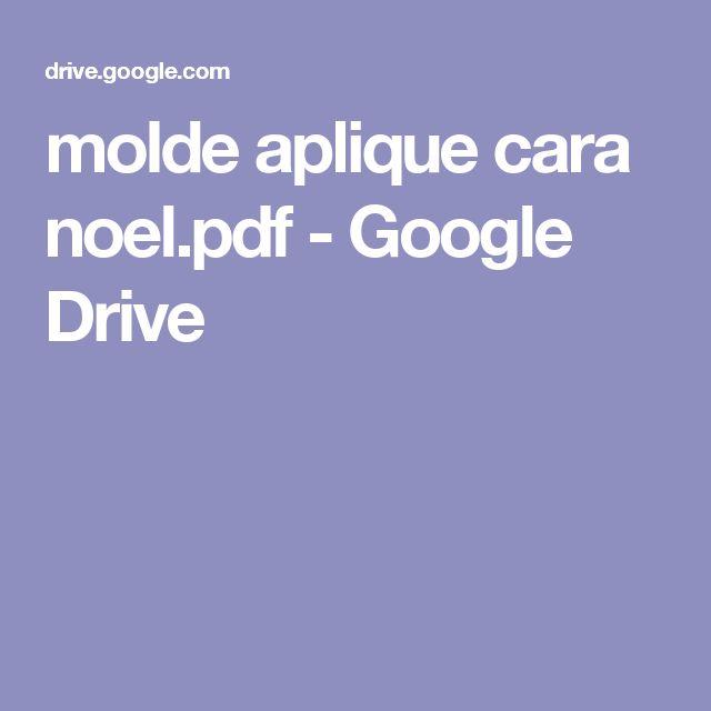molde aplique cara noel.pdf - Google Drive