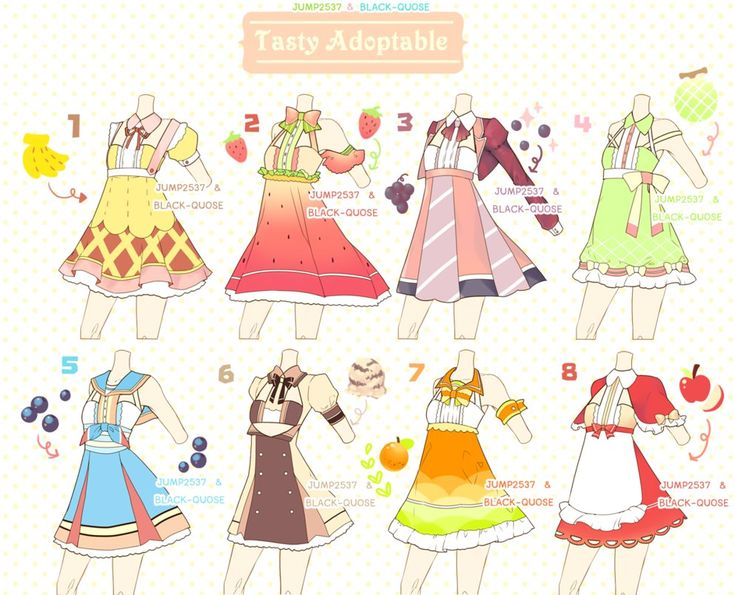 [CLOSED] Tasty Outfit Adoptable #12 by Black-Quose on DeviantArt