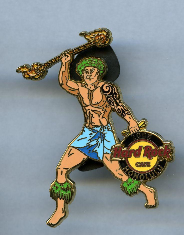 Honolulu - Hard Rock Cafe Pin