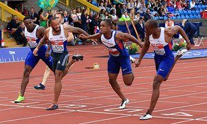 James Dasaolu wins stunning 100m race to book place on GB team for Rio • Three Brits run under 10secs in same race for first time • Desaolu and James Ellington qualify for Olympics; CJ Ujah must wait