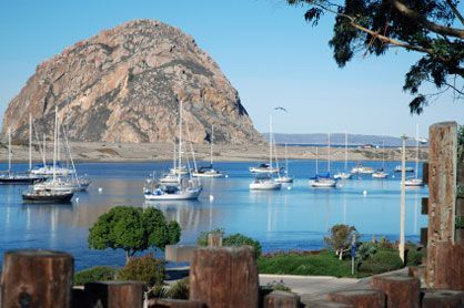 San Luis Obispo hotels Morro Bay, CA - just outside of San Luis Obispo.  LOVELY part of the country.