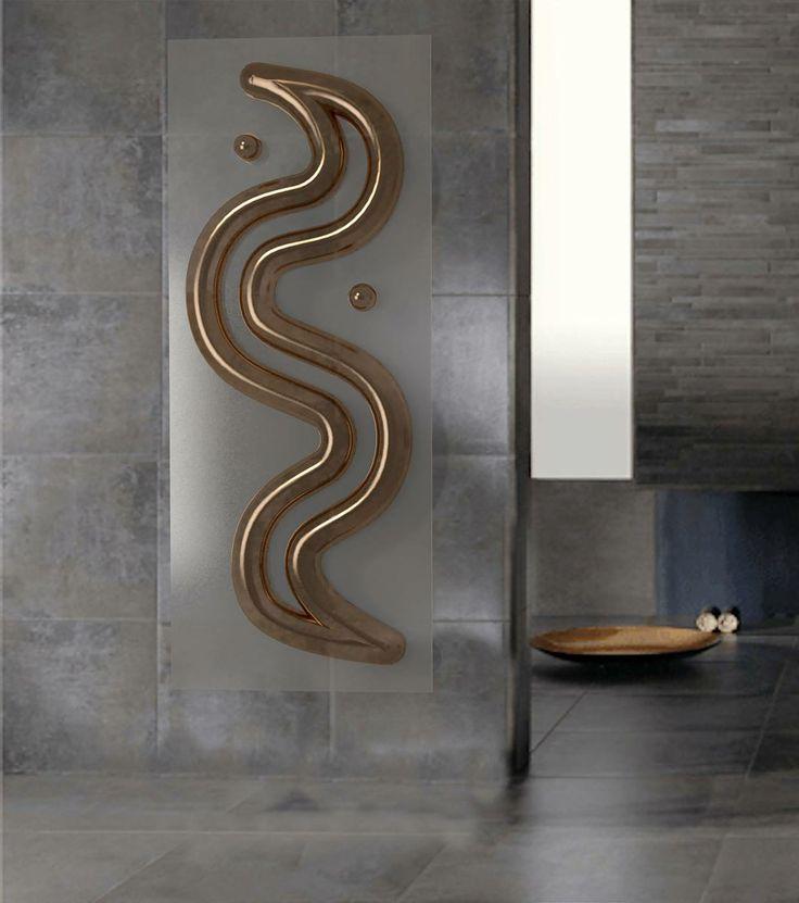 """Thermo """"S""""  MADE IN ITALY Info:1910@diciannovediecidesign.it   #termoarredo #arredamento #homedesign #interiordesign"""