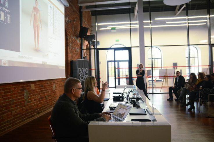 OptiTex – design your future – prowadzenie: Magdalena Krupińska oraz Alexandra Vassilaki , 9. FashionPhilosophy Fashion Week Poland, fot. Kamil Mackowicz #letthemknow #szkolenia #fashionweekpoland #fashionphilosophy