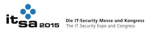 it-sa Nürnberg 2015: Auf der IT-Security-Messe it-sa werden die Trends und Innovationen der IT-Securitybranche gezeigt.