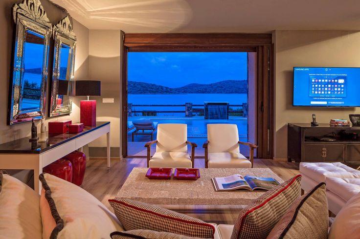 Any better view to spent #summer nights? #Greece #EloundaGulfVillas #Crete