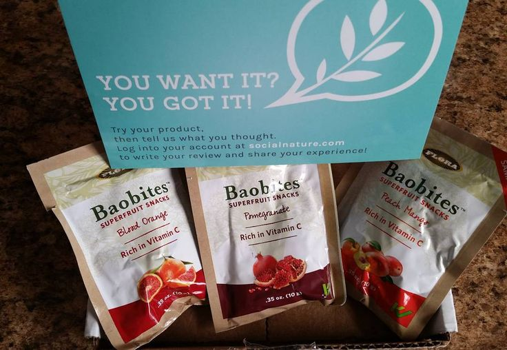New freebie today. Thank you @socialnature! Let's give these @baobites superfruit snacks a try!They are Vegan, Gluten-Free and Kosher! #GotItFree #productreview #reviewer #opinions #socialnature  #trynatural #health #foodie #snacks #healthysnacks