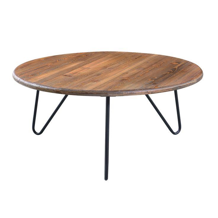 Serta Bryant Wood/ Round Coffee Table