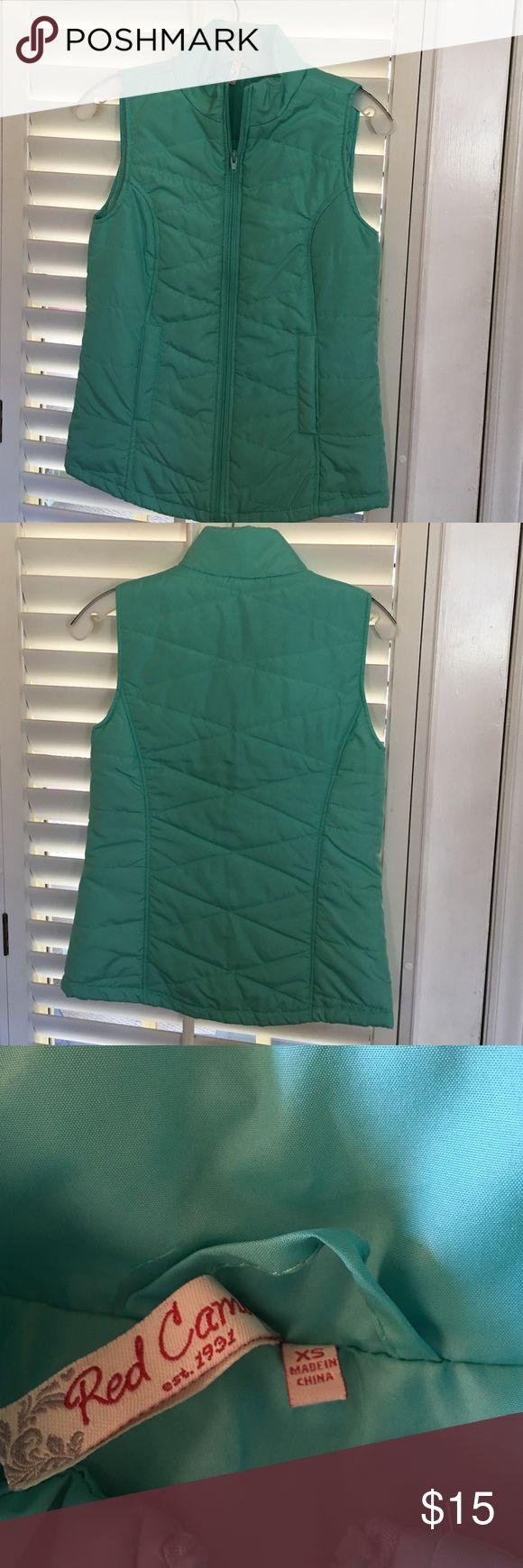 Red camel vest Red Camel light weight vest. Mint green size XS worn once Red Camel Jackets & Coats Vests