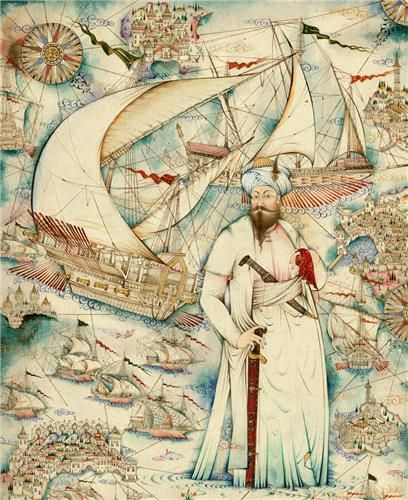 "Taner Alakuş / PIRI REIS . His name means CAPTAN PIRI. He is known as the person who has drawn the PIRI REIS MAP. His full name was ""Hacı Ahmed Muhiddin Piri"". Piri Reis is the author of the Kitab-ı Bahriye, one of the most famous pre-modern books of navigation, including a world map."