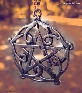 Poze Pandantiv celtic pentagrama din Brisingamen