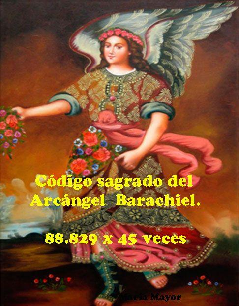Este es el código sagrado del Arcángel Barachiel.