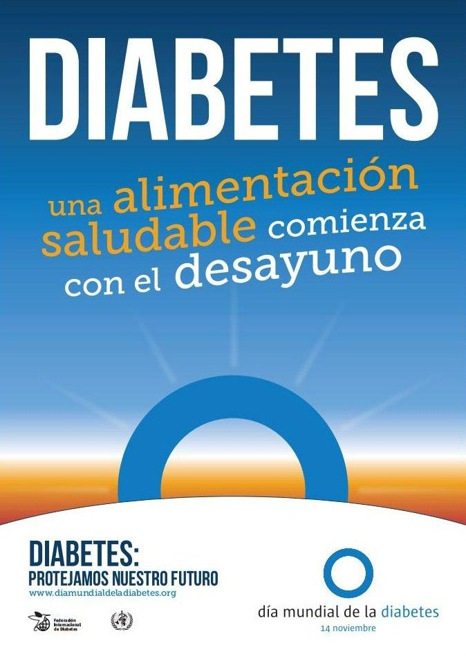D a mundial de la diabetes vida saludable y diabetes protejamos nuestro futuro una - Alimentos contra diabetes ...