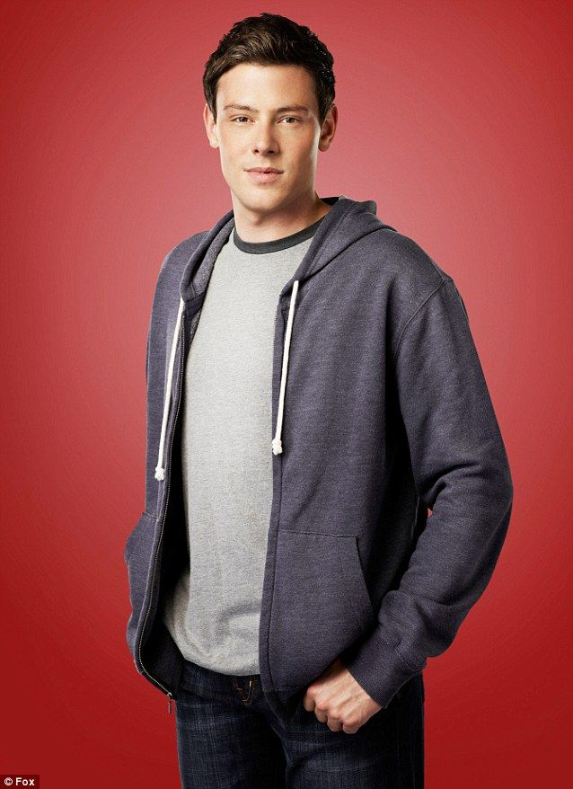 R.I.P Gone too soon: Cory was known for his role as Finn Hudson on the hugely popular series Glee