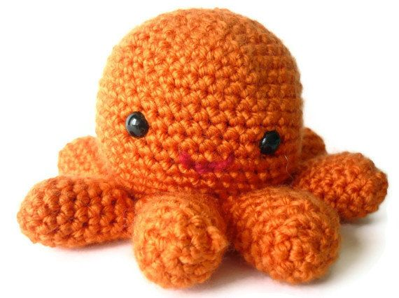 Octopus Who Just Wants To Be Loved Even Though He's A Sea Creature | 20 Adorable Handmade Stuffed Animals You Need To Hug Right Now