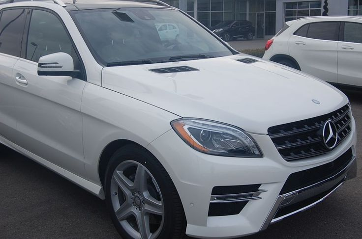 One of the safest SUV models - Mercedes-Benz ML Class