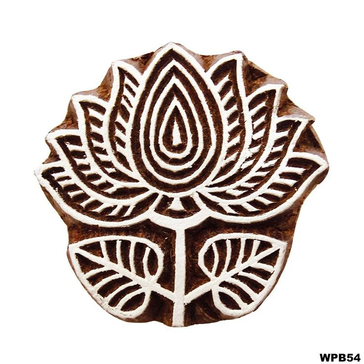 We Present You Indian handmade wooden material printing stamp decorated with nice carving work in lotus design on it. and if you are looking for handcrafted products and dresses which can make you more prettier, stylish and ethnic in look then we can assure you it is the best place for you. | eBay!