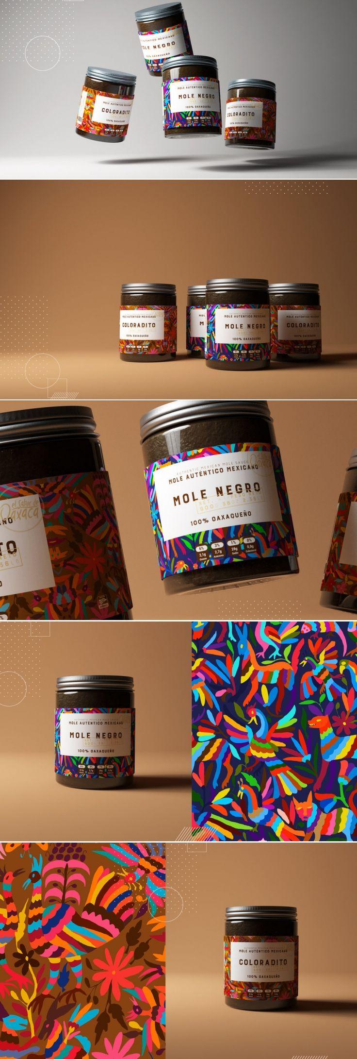 Sabor de Oaxaca Mole Sauce — The Dieline - Branding & Packaging Design