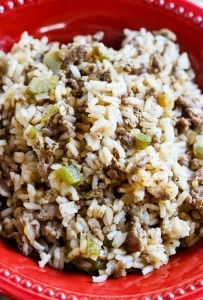 Dirty Rice - an easy southern-style side dish.