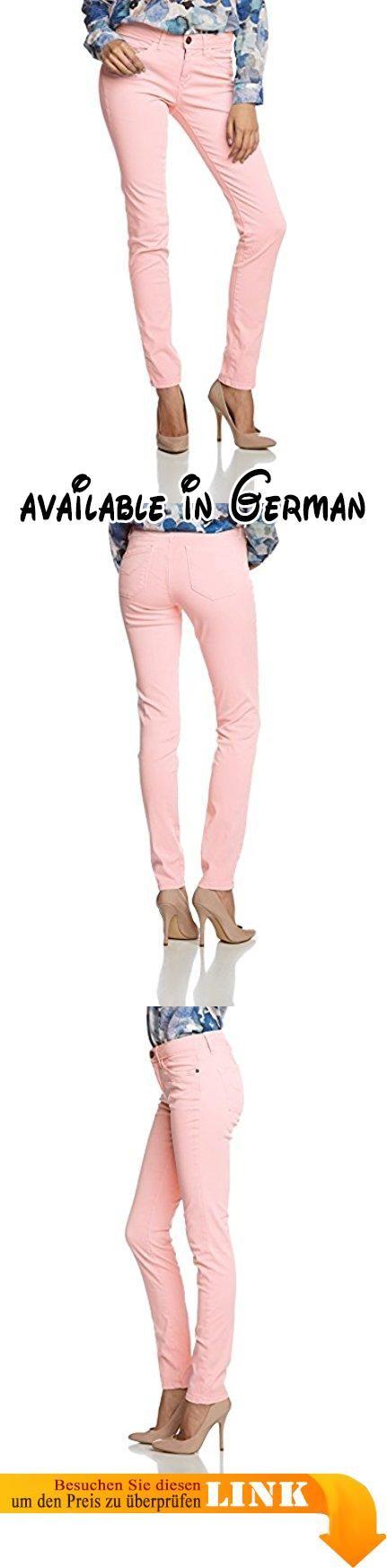 H.I.S Jeans Damen Skinny Hose Monroe, Gr. 42/L31, Rosa (Rosé 5510). Aktuelle Trendfarben. Normale Leibhöhe. Röhrenhose »Monroe« von H.I.S. Schmale Regular-Fit-Form. Softe und bequeme Stretch-Qualität #Apparel #PANTS