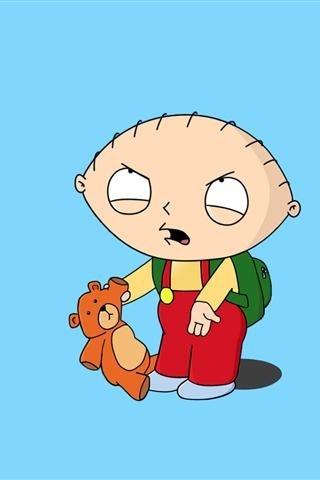 Stewie and Rupert <3