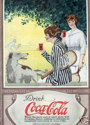 Coca-Cola (1917) #vintage #locandine #adv