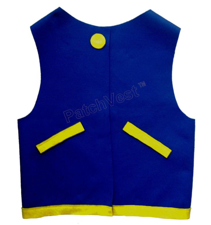 FELT Blue Ash Ketchum Trainer Jacket Vest Costume Cosplay Anime Pokemon Go…