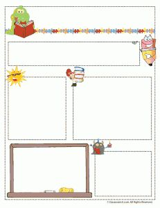 Teacher Newsletter Templates for every month.... printable ONLY for handwritten letters
