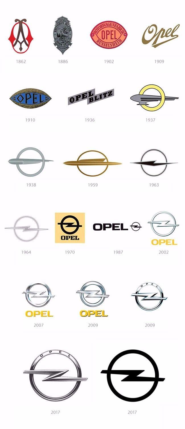 扁平化风潮下的欧宝:回到1972 New Logo for OPEL - AD518.com - 最设计