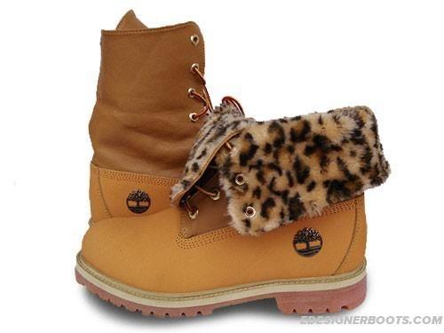 timberland leopard