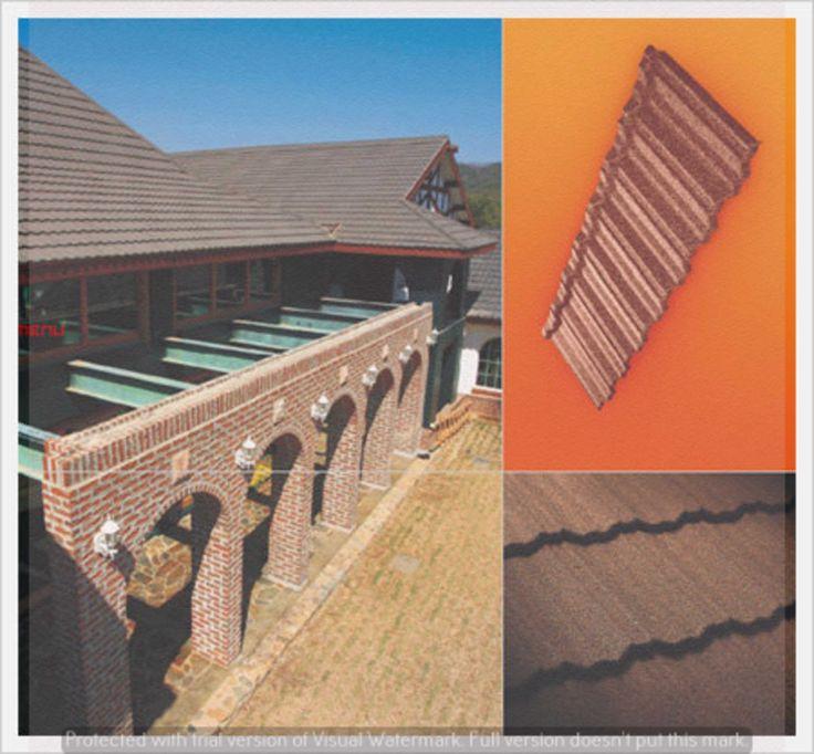 Korea New Zealand Gerard stone coated roofing heritage