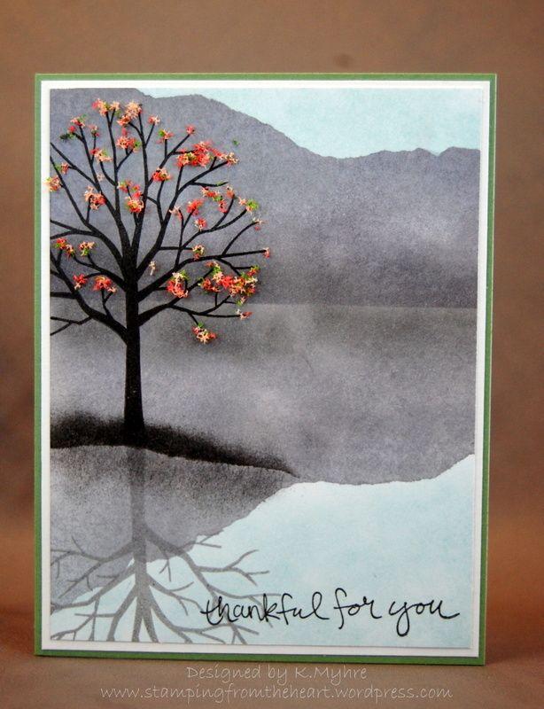 Открытка про осень своими руками нарисовать, анимашки