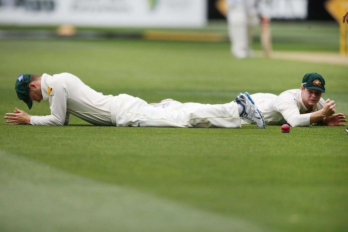 Steve Smith (right) and Michael Clarke