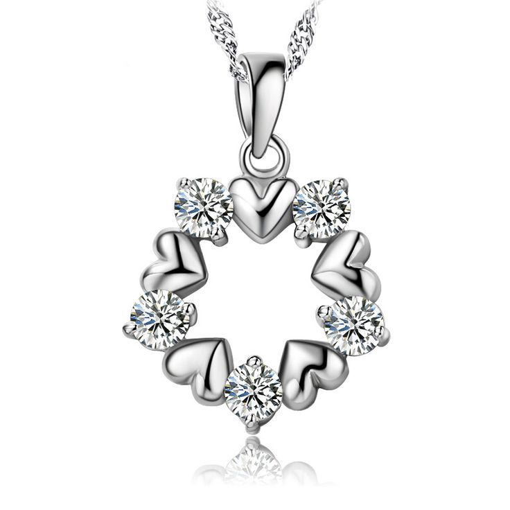diamond pendant pendant necklace sterling pendant mother child pendant #pendants