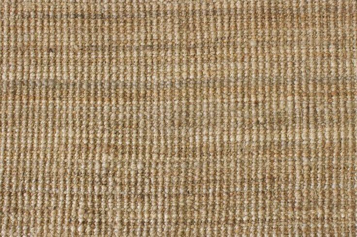 Jute natural fibre rug