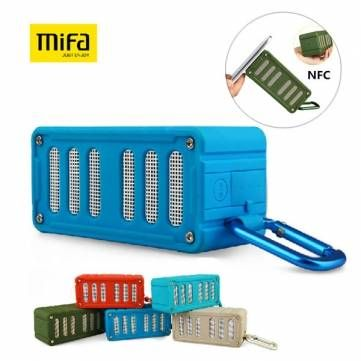 MIFA F6 Waterpoof Electricity Display NFC AUX SD Card Wireless Bluetooth 4.0 Speaker Sale-Banggood.com