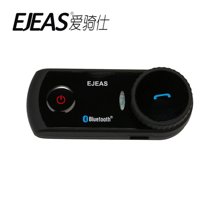 E2 Direct Factory Full Duplex Talking Bluetooth Intercom Wireless Motorcycle Headset VOX Waterproof 2PCS/Package