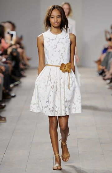 Look 3 from the Michael Kors Spring 2015 Collection.