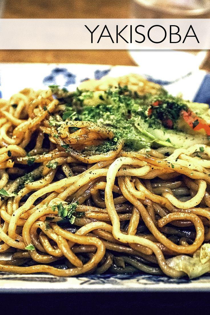 Yakisoba!Everything you need to know about the Japanese food, yakisoba.
