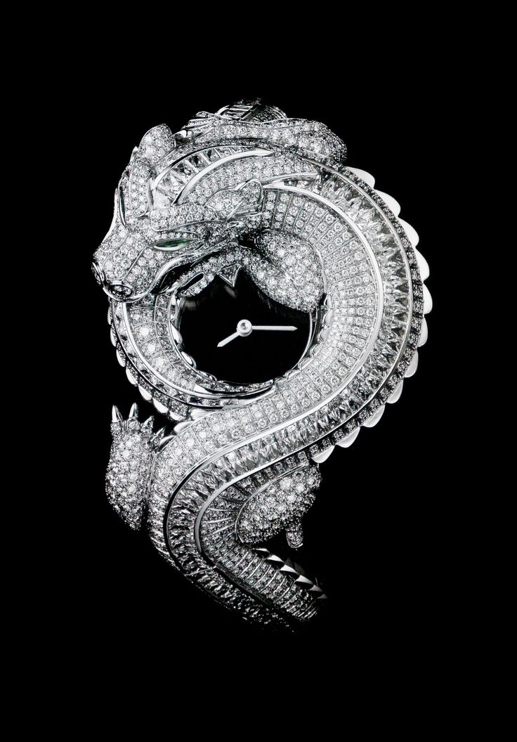 Wow wow wow....Dragon watch - Cartier. Im convinced now, that diamonds really are a girls best friend. Sometimes more is more, and less is less. A very friendly piece indeed ;)